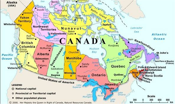Gander Canada Map.Canadian Ezguide Canada Information Reference Software Startpage